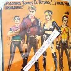 Cine: CARTEL PROMOCION PELICULA DE VIDEO - CURSO 1984 - TAMAÑO FOLIO -. Lote 137912274