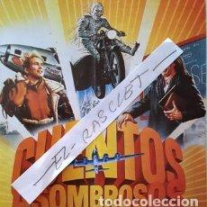 Cinema: CARTEL PROMOCION PELICULA DE VIDEO - CUENTOS ASOMBROSOS - TAMAÑO MEDIO FOLIO -. Lote 137912886