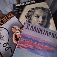 Cine: LOTE DE 100 REVISTAS DE CINE RADIOCINEMA DESDE N 1 AÑO 1936 CUANDO SE LLAMABA RADIO Y CINEMA.. Lote 137937734