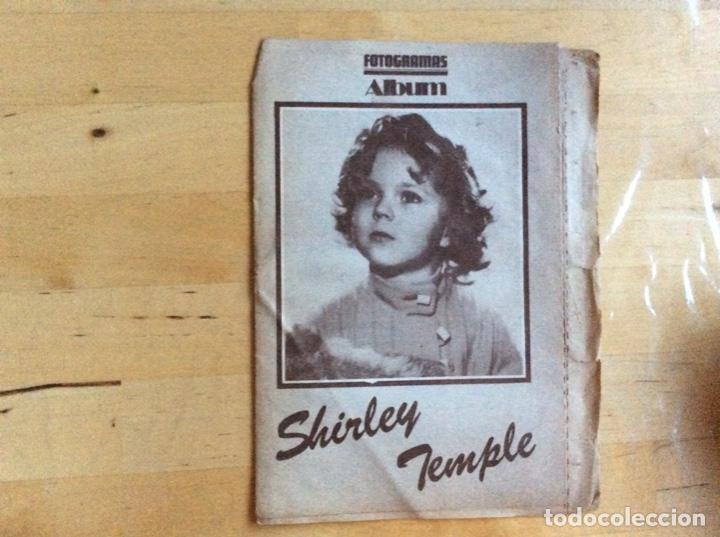 SHIRLEY TEMPLE ALBUM FOTOGRAMAS (Cine - Revistas - Fotogramas)