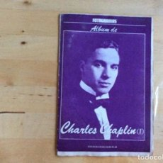 Cine: CHARLES CHAPLIN ALBUM FOTOGRAMAS . Lote 138195210