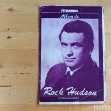 Cine: ROCK HUDSON ALBUM FOTOGRAMAS . Lote 138210050