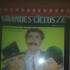 Cine: BIOGRAFIA HERMANOS MARX GRANDES CICLOS TV. . Lote 138284326