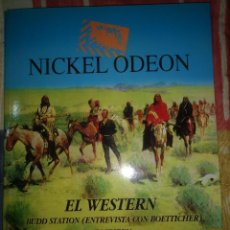 Cine: REVISTA DE CINE NICKEL ODEON NÚMERO 4 EL WESTERN. Lote 146512948