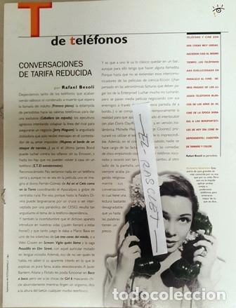 Cine: FOTOGRAMAS - ENCICLOPEDIA INSOLITA Y VISUAL DEL CINE - Nº 1 - - Foto 12 - 138560578