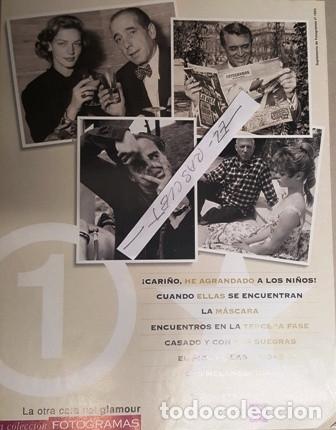 Cine: COLECCION FOTOGRAMAS - UN HOMENAJE AL STAR SYSTEM - LA OTRA CARA DEL GLAMOUR - - Foto 2 - 138562738