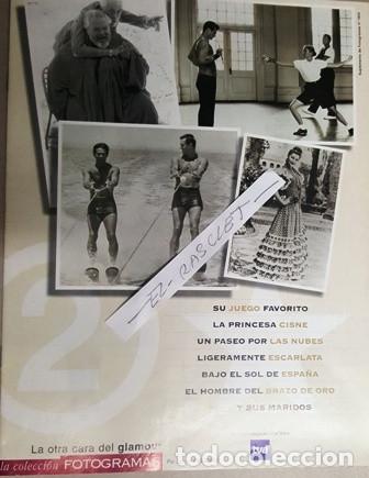 Cine: COLECCION FOTOGRAMAS - UN HOMENAJE AL STAR SYSTEM - LA OTRA CARA DEL GLAMOUR - - Foto 3 - 138562738