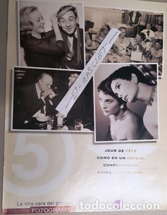 Cine: COLECCION FOTOGRAMAS - UN HOMENAJE AL STAR SYSTEM - LA OTRA CARA DEL GLAMOUR - - Foto 5 - 138562738