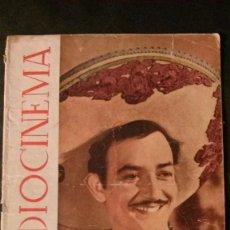 Cine: RADIOCINEMA Nº 129-1946-JORGE NEGRETE-GREER GARSON-CANTINFLAS-ANIS LAS CADENAS-VISNU-JANE WYMAN. Lote 138629650