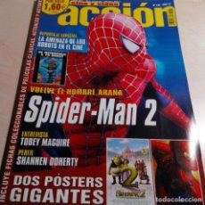 Cine: SPIDER-MAN 2.TOBEY MAGUIRE.SHANNEN DOHERTY.ESPECIAL ROBOTS.I ROBOT.ACCION Nº 146.2004.. Lote 138671482