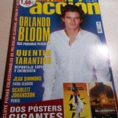 Cine: ORLANDO BLOOM.QUENTIN TARANTINO.SCARLETT JOHANSSON.ACCION Nº 143.2004.. Lote 138671690