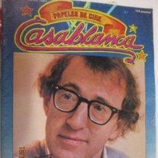 Cine: REVISTA CASABLANCA. Nº 2. FEBRERO 1981. EXCLUSIVA WOODY ALLEN.. Lote 138826438