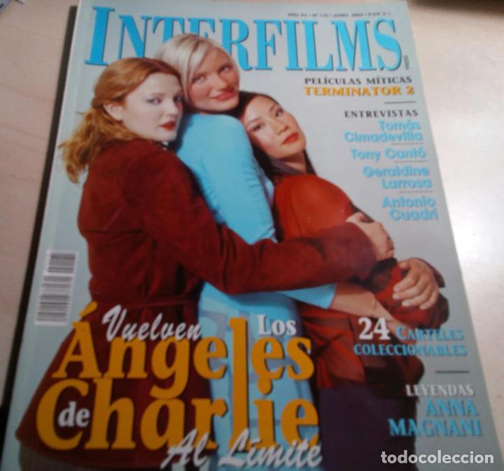 Cine: TERMINATOR 2.LOS ANGELES DE CHARLY.TONY CANTÓ.INTERFILMS Nº 175.2003. - Foto 2 - 138915010