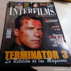 Cine: TERMINATOR 3.EL SEXTO SENTIDO.LOLES LEON.GENE KELLY.EL EMBRUJO DEL SUR.MINGOTE.INTERFILMS Nº 176. Lote 138915450