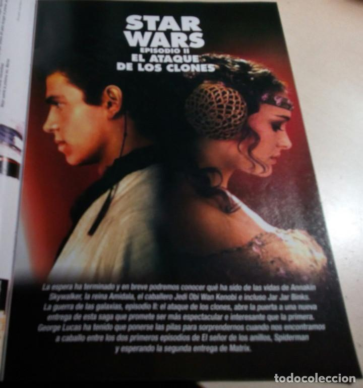 STAR WARS.EL ATAQUE DE LOS CLONES.ACCION Nº 120.2002. (Cine - Revistas - Interfilms)