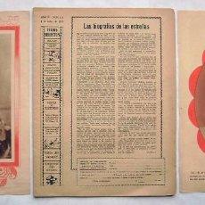 Cine: GARY COOPER. REVISTA FILMS SELECTOS CON 2 ARTISTAS SUELTAS. 1933.. Lote 138972918