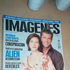 Cine: REVISTA IMAGENES DE ACTUALIDAD 164 (NOVIEMBRE 1997) MEL GIBSON JULIA ROBERTS ALIEN L.A. CONFIDENTIAL. Lote 138988474