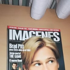 Cinéma: REVISTA IMAGENES DE ACTUALIDAD 165 (DICIEMBRE 1997) BRAD PITT JAMES BOND MICHAEL DOUGLAS THE GAME. Lote 138988834