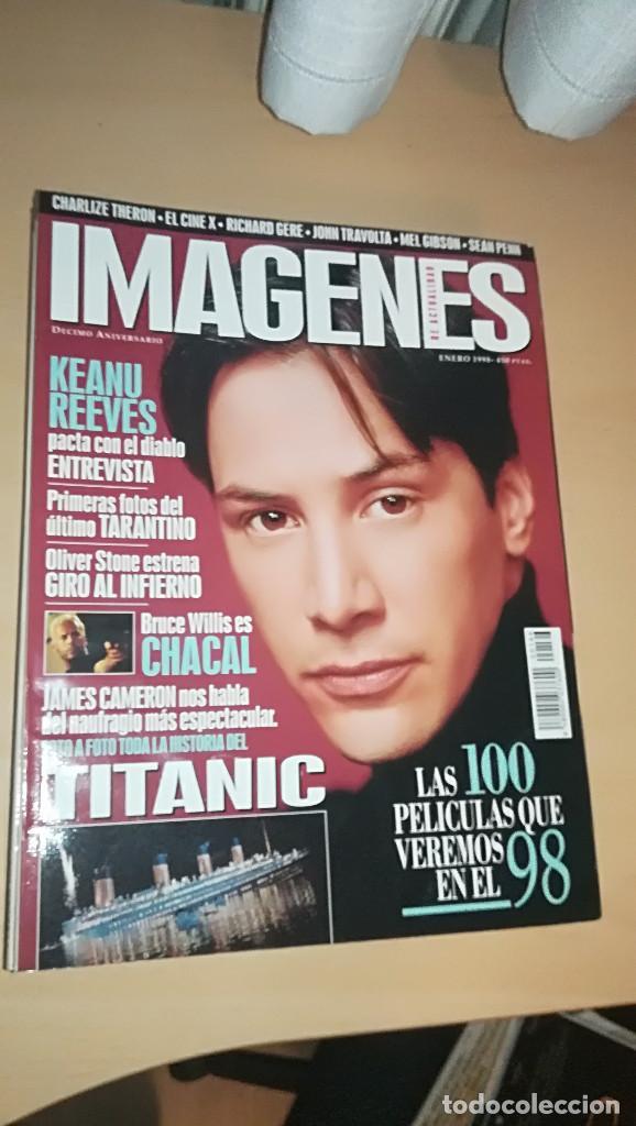 REVISTA IMAGENES DE ACTUALIDAD 166 (ENERO 1998) KEANU REEVES TARANTINO CHACAL TITANIC RICHARD GERE (Cine - Revistas - Imágenes de la actualidad)
