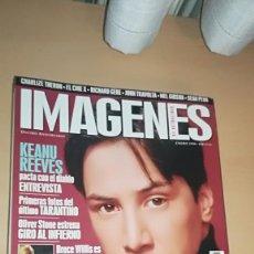Cine: REVISTA IMAGENES DE ACTUALIDAD 166 (ENERO 1998) KEANU REEVES TARANTINO CHACAL TITANIC RICHARD GERE. Lote 138988954