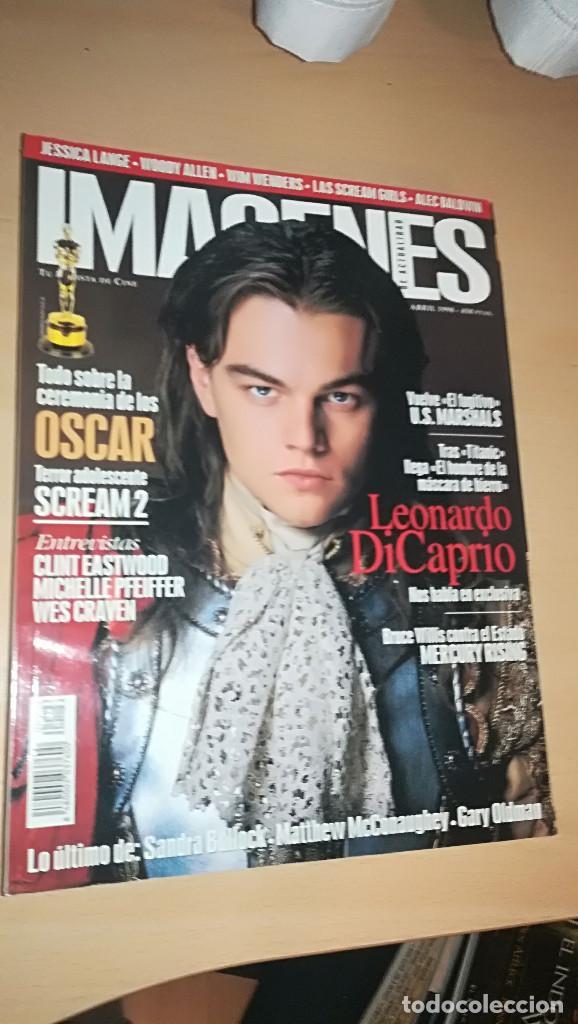 REVISTA IMAGENES DE ACTUALIDAD 169 (ABRIL 1998) SCREAM 2 DICAPRIO EASTWOOD GARY OLDMAN (Cine - Revistas - Imágenes de la actualidad)