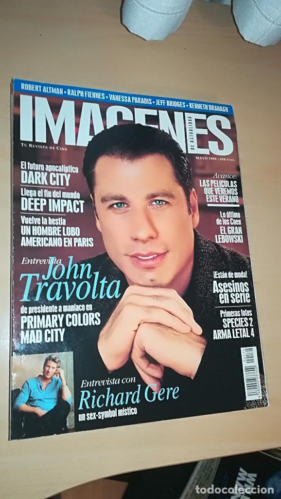 REVISTA IMAGENES DE ACTUALIDAD 170 (MAYO 1998) DARK CITY TRAVOLTA DEEP IMPACT RICHARD GERE (Cine - Revistas - Imágenes de la actualidad)