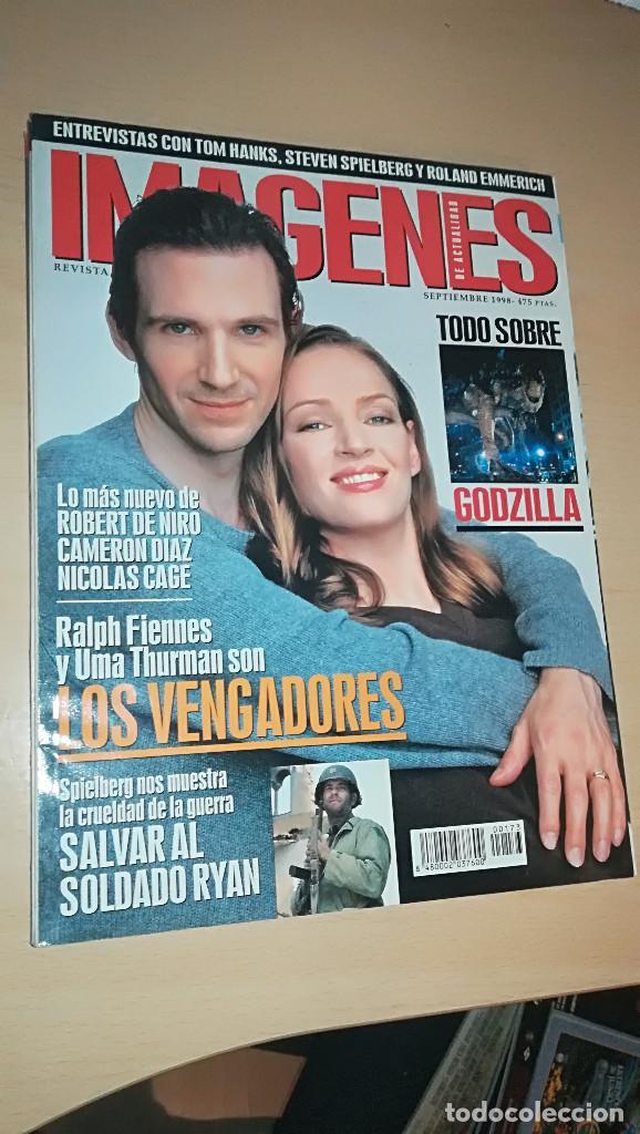 REVISTA IMAGENES DE ACTUALIDAD 173 (SEPTIEMBRE 1998) RALPH FIENNES UMA THURMAN SALVAR AL SOLDADO RYA (Cine - Revistas - Imágenes de la actualidad)