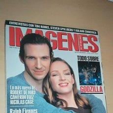 Cine: REVISTA IMAGENES DE ACTUALIDAD 173 (SEPTIEMBRE 1998) RALPH FIENNES UMA THURMAN SALVAR AL SOLDADO RYA. Lote 138990250