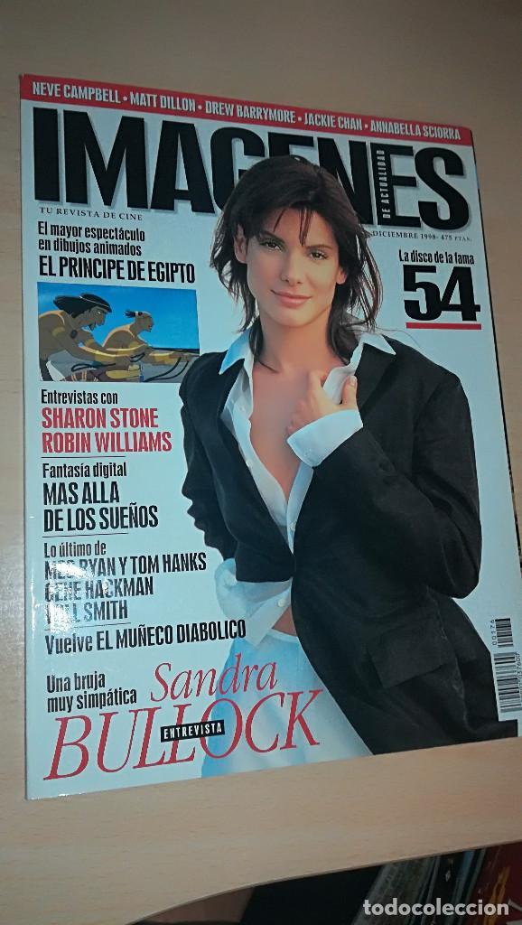 REVISTA IMAGENES DE ACTUALIDAD 176 (DICIEMBRE 1998) SANDRA BULLOCK EL PRINCIPE DEL DESIERTO (Cine - Revistas - Imágenes de la actualidad)