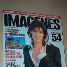 Cine: REVISTA IMAGENES DE ACTUALIDAD 176 (DICIEMBRE 1998) SANDRA BULLOCK EL PRINCIPE DEL DESIERTO. Lote 138990586