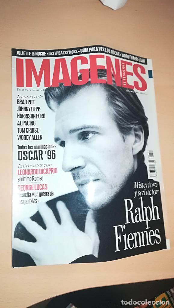 REVISTA IMAGENES DE ACTUALIDAD 157 (MARZO 1997) RALPH FIENNES. ALGUN DEFECTO, VER DESCRIPCIÓN (Cine - Revistas - Imágenes de la actualidad)