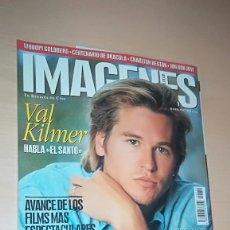 Cine: REVISTA IMAGENES DE ACTUALIDAD 159 (MAYO 1997) VAL KILMER TITANIC ALGUN DEFECTO, VER DESCRIPCIÓN. Lote 138999226