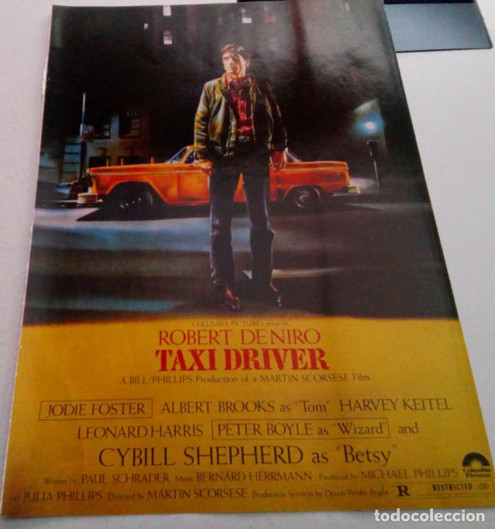 ROBERT DE NIRO.CYBILL SHEPHERD.HARVEY KEITEL.TAXI DRIVER.POSTER. (Cine - Reproducciones de carteles, folletos...)