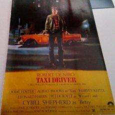 Cine: ROBERT DE NIRO.CYBILL SHEPHERD.HARVEY KEITEL.TAXI DRIVER.POSTER.. Lote 182048427