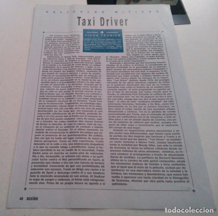 Cine: ROBERT DE NIRO.CYBILL SHEPHERD.HARVEY KEITEL.TAXI DRIVER.POSTER. - Foto 2 - 182048427