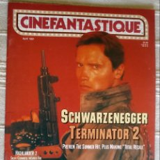 Cine: CINEFANTASTIQUE VOL 21, N 5/ ABRIL 1991. Lote 139045332