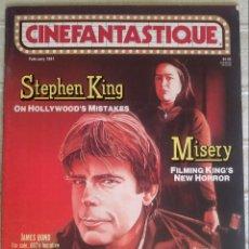 Cine: CINEFANTASTIQUE VOL 21 N 4, FEBRERO 1991. Lote 139047036