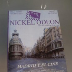 Cine: NICKEL ODEON. REVISTA TRIMESTRAL DE CINE. Nº 7 VERANO 1997 / MADRID Y EL CINE. Lote 139149978