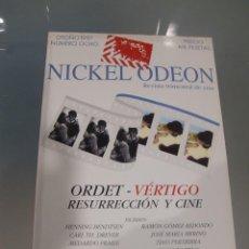 Cine: NICKEL ODEON. REVISTA TRIMESTRAL DE CINE. Nº 8 OTOÑO 1997 / ORDET- VERTIGO. Lote 139150974