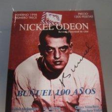 Cine: NICKEL ODEON. REVISTA TRIMESTRAL DE CINE. Nº 13 INVIERNO 1998 / BUÑUEL 100 AÑOS. Lote 139152762