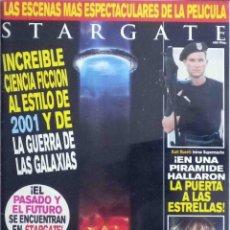 Cine: REVISTA OFICIAL DE LA PELÍCULA STARGATE. Lote 144144440