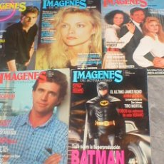 Cine: GRAN LOTE COLECCION 15 REVISTAS DIFERENTES DE CINE IMAGENES DE ACTUALIDAD 1989 - 1990 OFERTA MIRA !!. Lote 139268438