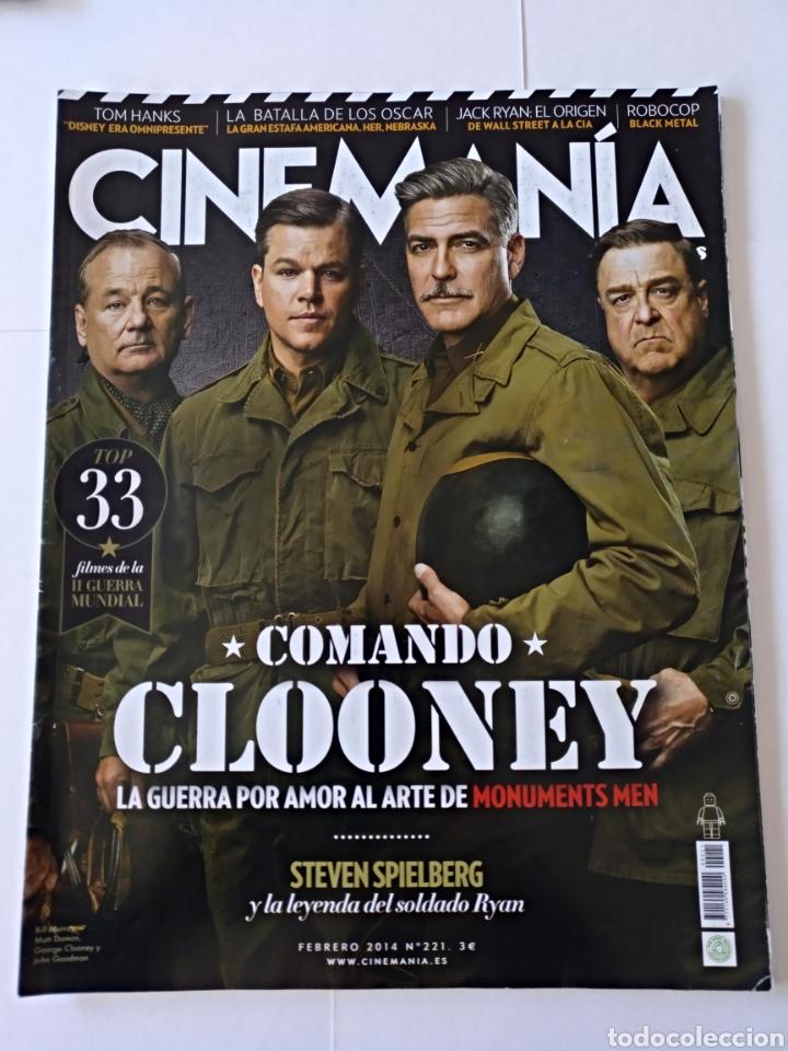 REVISTA CINEMANÍA FEBRERO 2014 NÚMERO 221 (Cine - Revistas - Cinemanía)