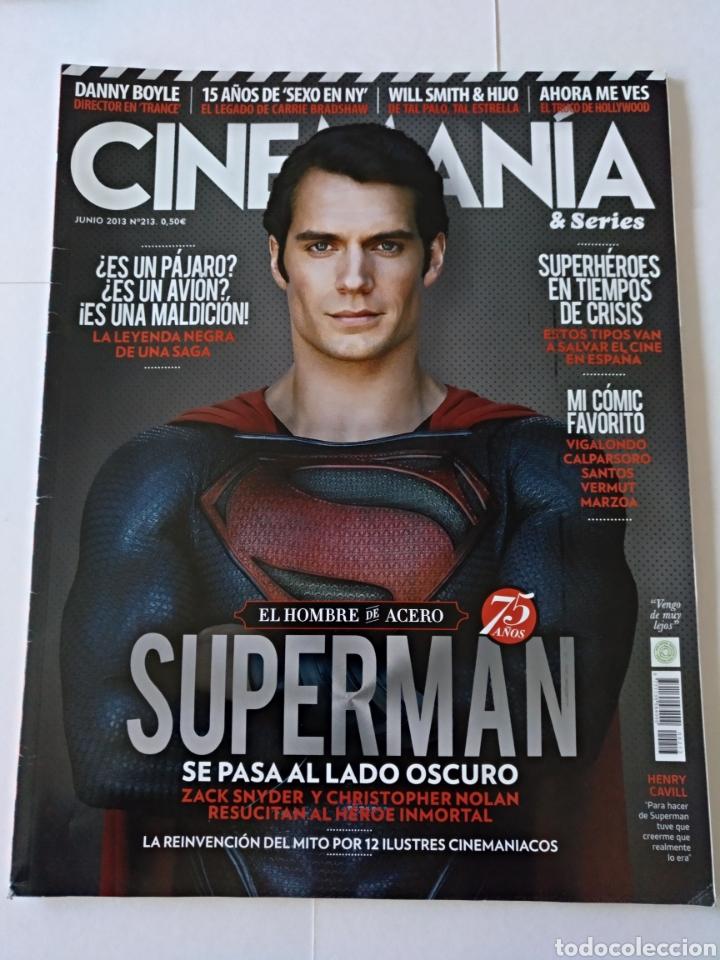 REVISTA CINEMANÍA JUNIO 2013 NÚMERO 213 (Cine - Revistas - Cinemanía)