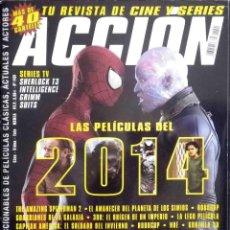 Cine: ACCIÓN Nº 1401 COMPLETA CON PÓSTERS, FICHAS Y COLECCIONABLES. Lote 139426130