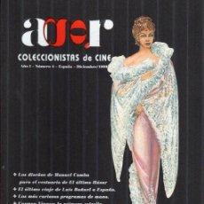 Cine: AGR. COLECCIONISTAS DE CINE NÚMERO 4. DICIEMBRE 1999. Lote 139448534
