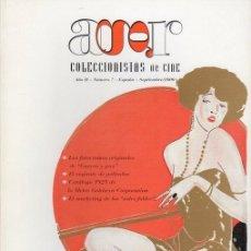 Cine: AGR. COLECCIONISTAS DE CINE NÚMERO 7. SEPTIEMBRE 2000. Lote 139451030