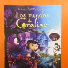 Cine: PUBLICIDAD 2008 - EL MUNDO DE CAROLINE. Lote 139616618
