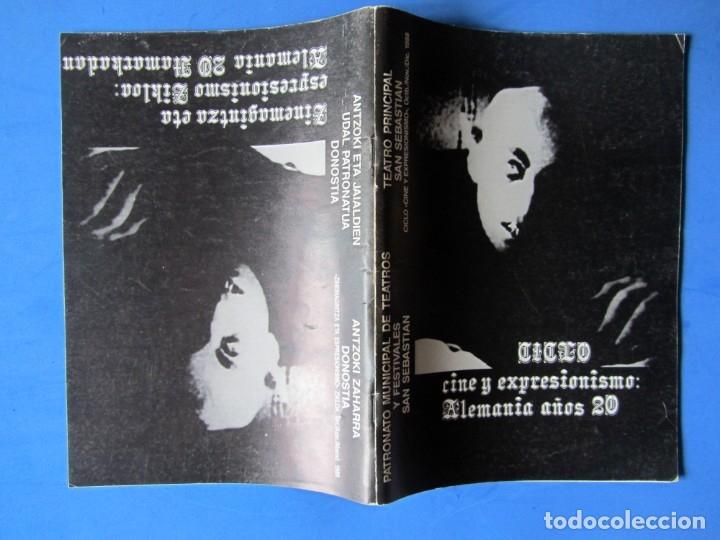Cine: REVISTA PRE NOSFERATU (VER DESCRIPCIÓN) CINE Y EXPRESIONISMO: ALEMANIA AÑOS 20 MUY RARA REVISTA - Foto 2 - 139640278