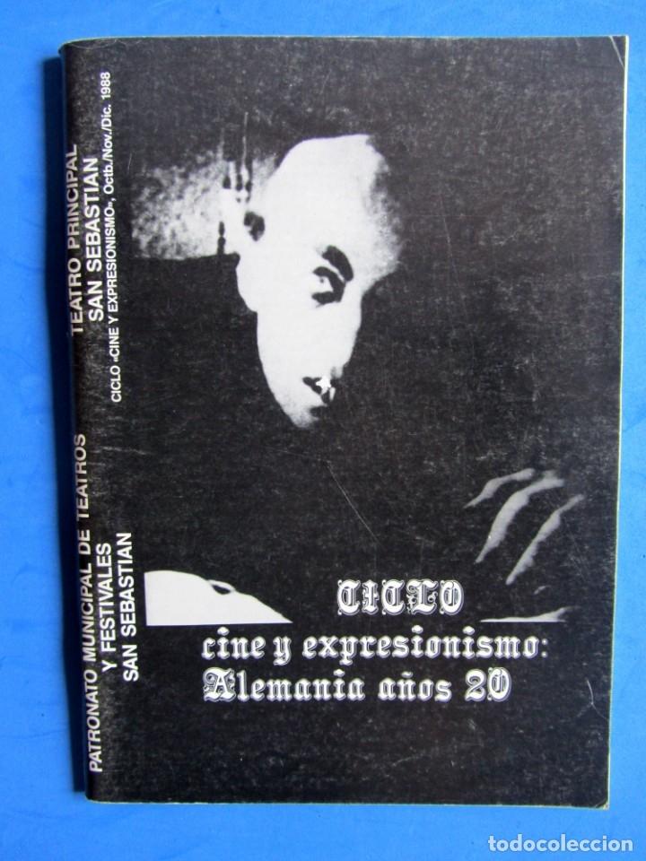 Cine: REVISTA PRE NOSFERATU (VER DESCRIPCIÓN) CINE Y EXPRESIONISMO: ALEMANIA AÑOS 20 MUY RARA REVISTA - Foto 3 - 139640278